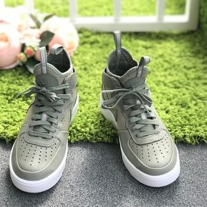 Nike Air Force 1 Ultraforce MID Dark Stucco WMNS NWT